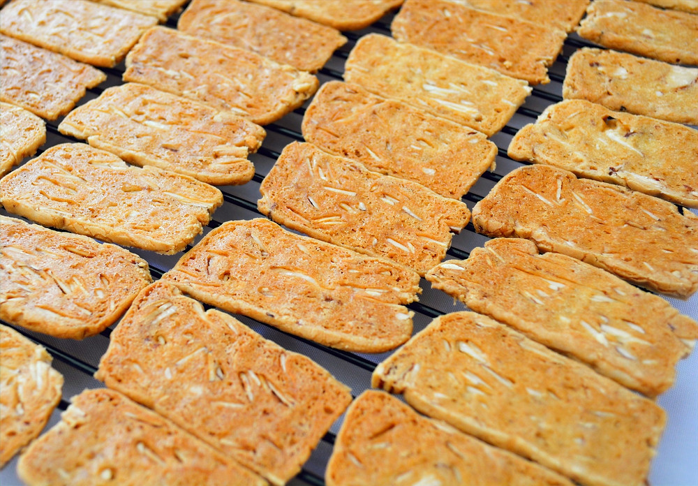 Crisp Almond Thin Cookies