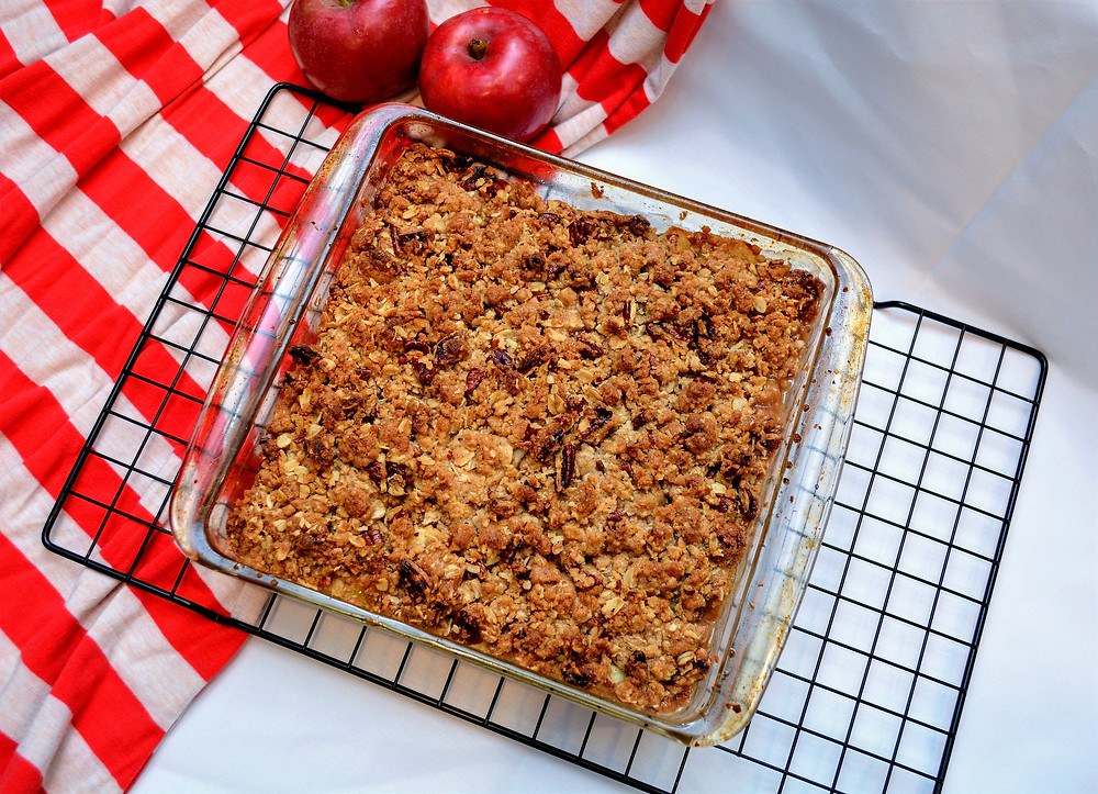 Classic Apple Crisp with Oat Crumb Topping