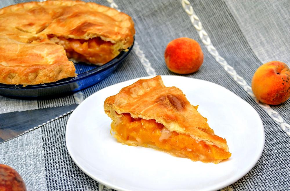 Fresh Summer Peach Pie