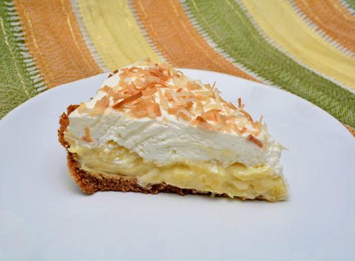 Pineapple Coconut Cream Pie