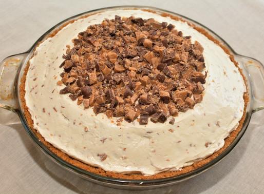 Heath Bar Cheesecake Pie