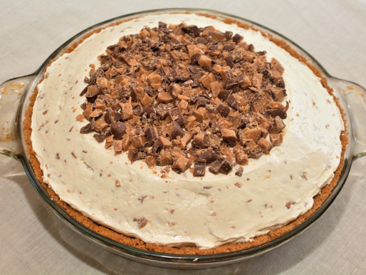 Heath Bar Cheesecake Pie