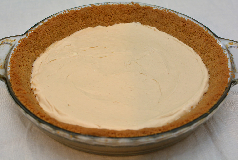 Peanut Butter Banana Cream Pie with Nutter Butter Cookie Crust and Peanut Butter Mousse