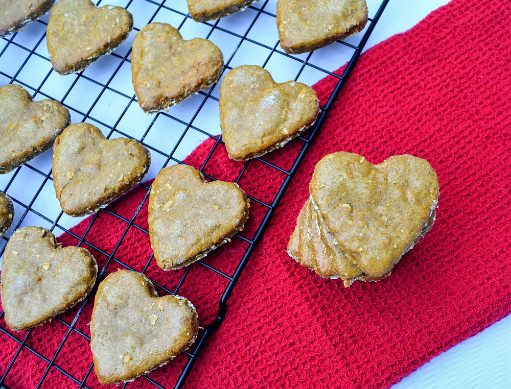 Easy Sweet Potato Dog Biscuits