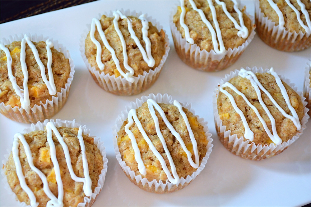 Easy and Healthy Mango Oatmeal Dog Muffins