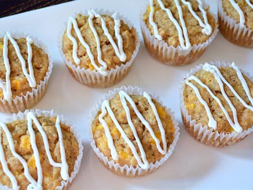 Mango Oatmeal Ruffin' Muffins