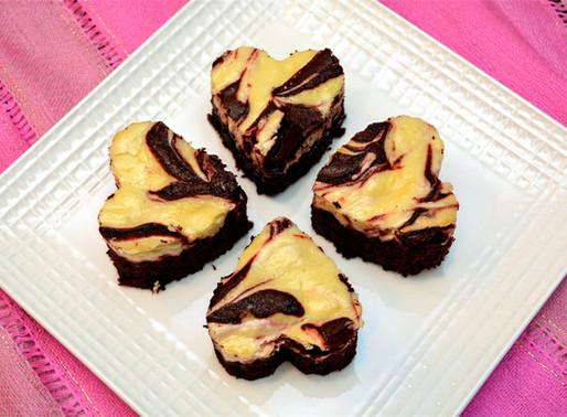 Dark Chocolate Red Velvet Cheesecake Swirl Brownies