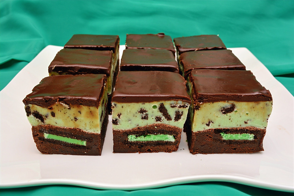 Ultimate Mint Chocolate Oreo Fudge Brownies