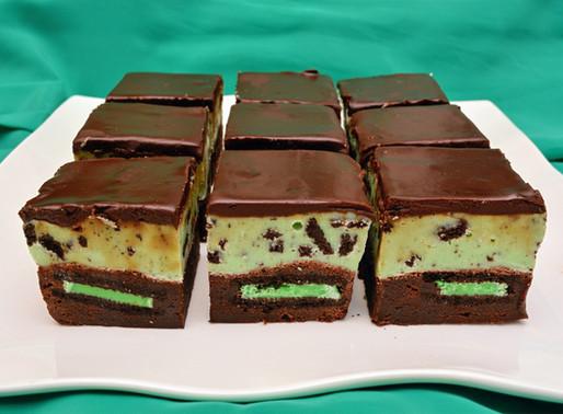 Mint Chocolate Oreo Fudge Brownies