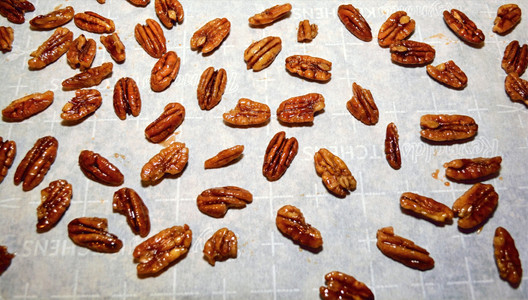 Candied Pecans for Caramel Pecan Pie Pumpkin Cheesecake