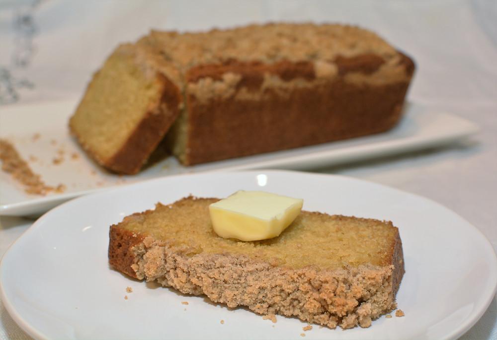Slice of Buttermilk Pancake Bread