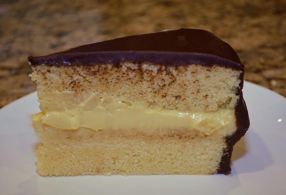 Tender Boston Cream Pie