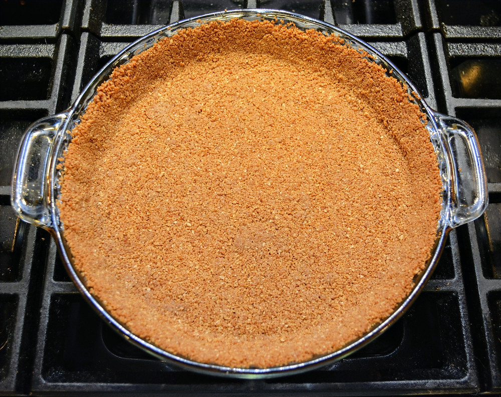 Oatmeal Cookie Crust for Pineapple Coconut Cream Pie