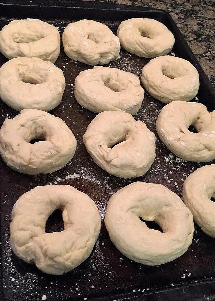 Tender Homemade Bagels