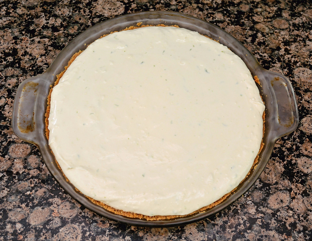 Light and Fluffy Key Lime Cream Pie
