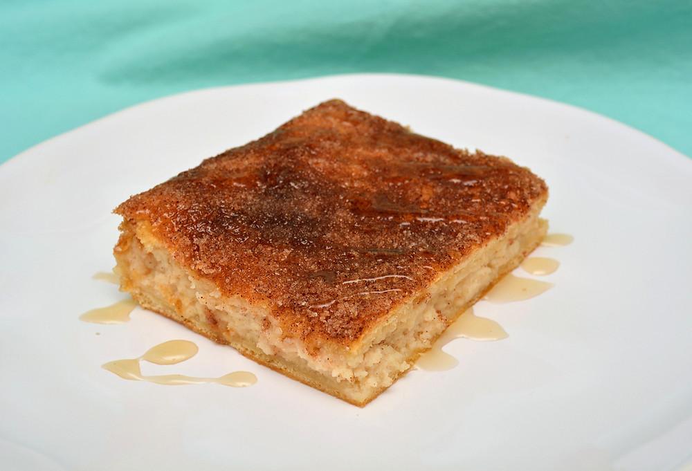 Sopapilla Cheesecake Bars with Crescent Dough Crust