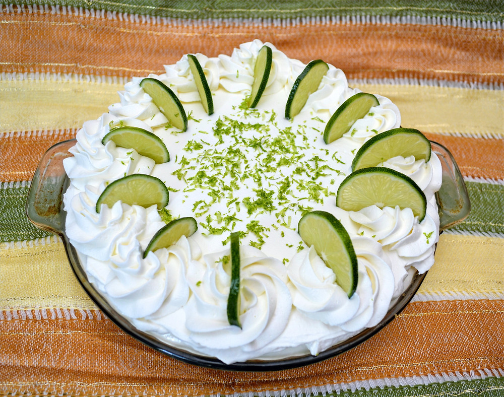Sweet and Tart Key Lime Cream Pie