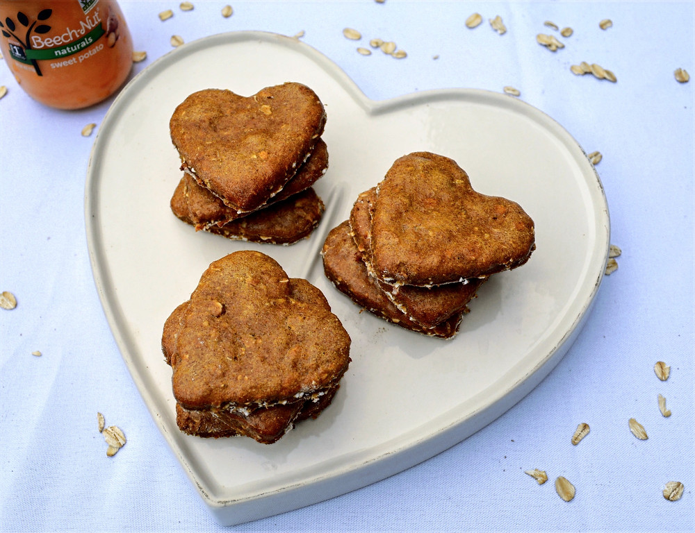 Homemade Sweet Potato Dog Biscuits