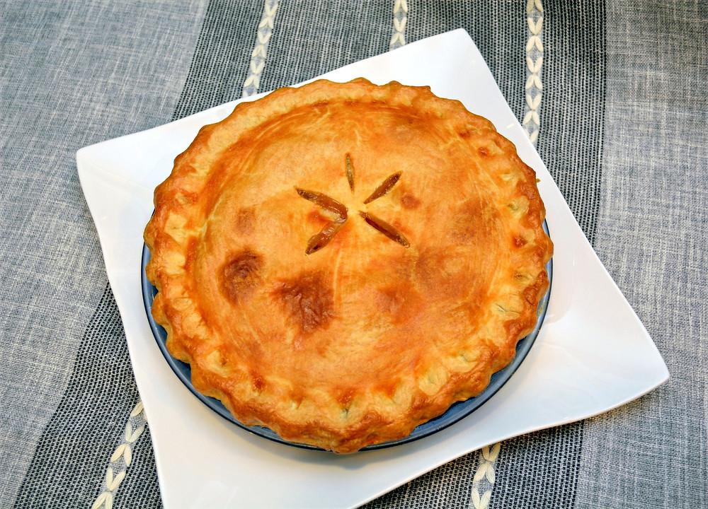 Fresh Baked Peach Pie
