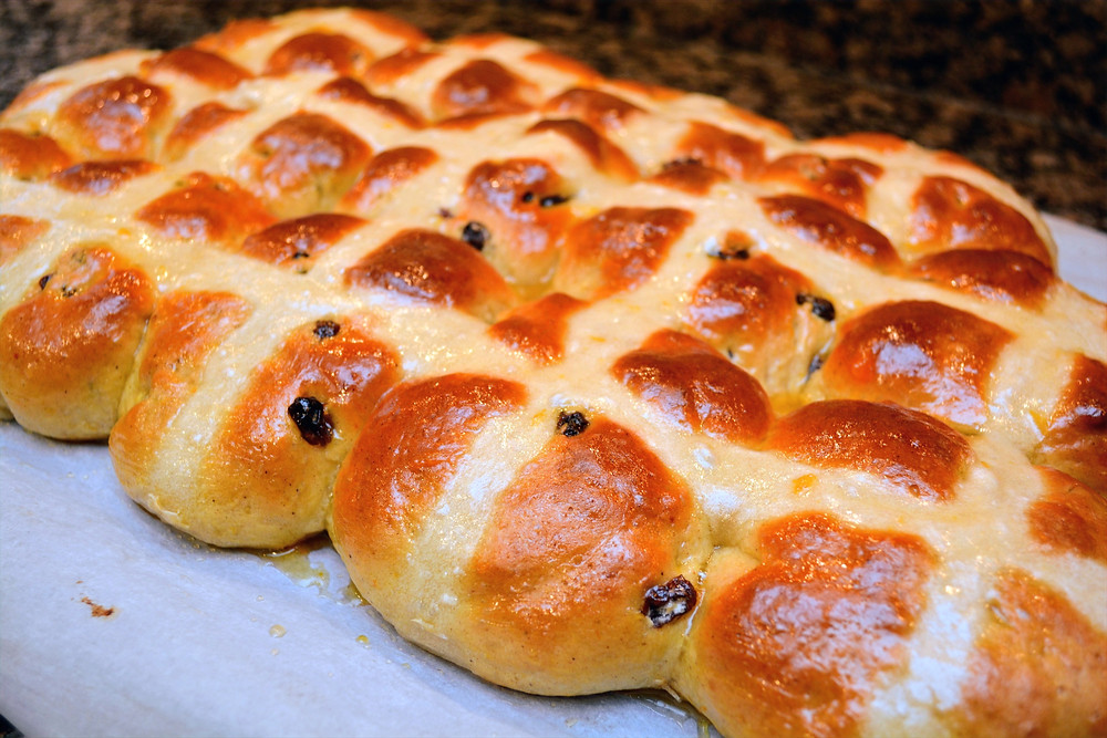 Soft and Tender Hot Cross Buns