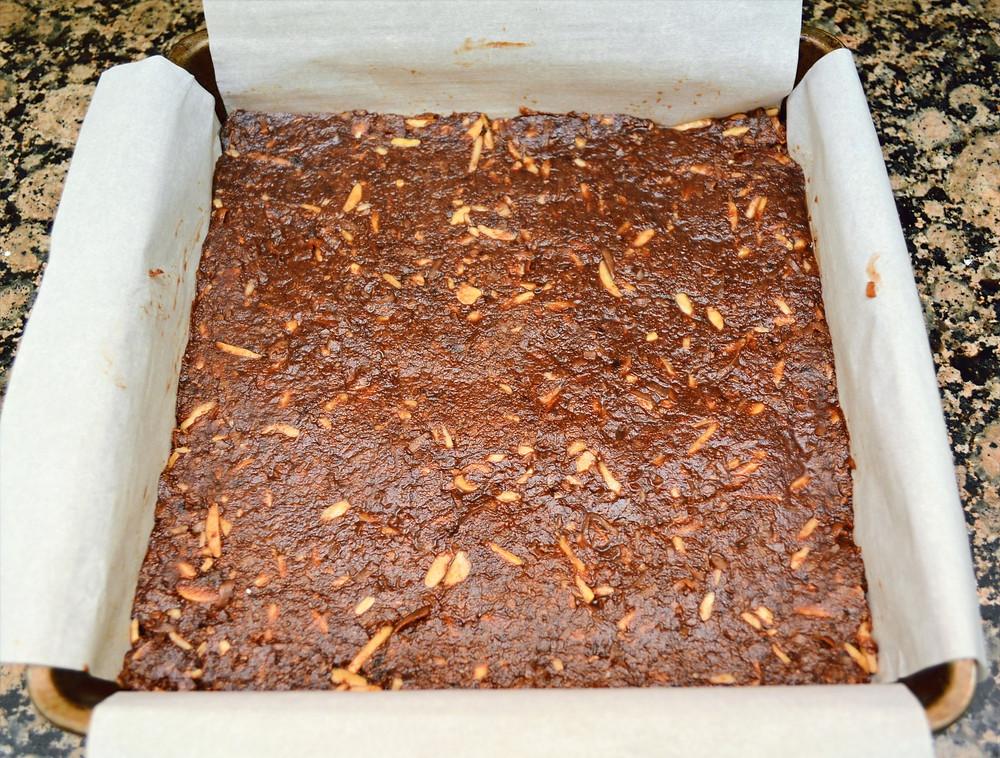 Fudgy Graham Cracker Coconut Almond Base of Mocha Latte Nanaimo Bars