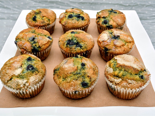 The Best Easy Blueberry Muffins