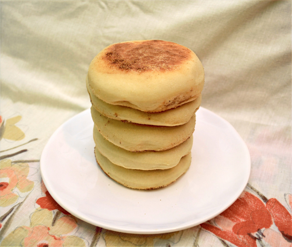 Soft and Fluffy Homemade English Muffins