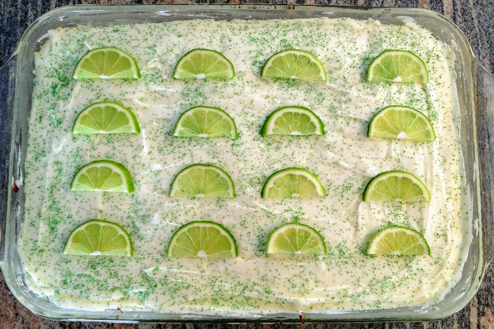 Ultra Moist Margarita Lime Cake with Tequila Cream Cheese Frosting
