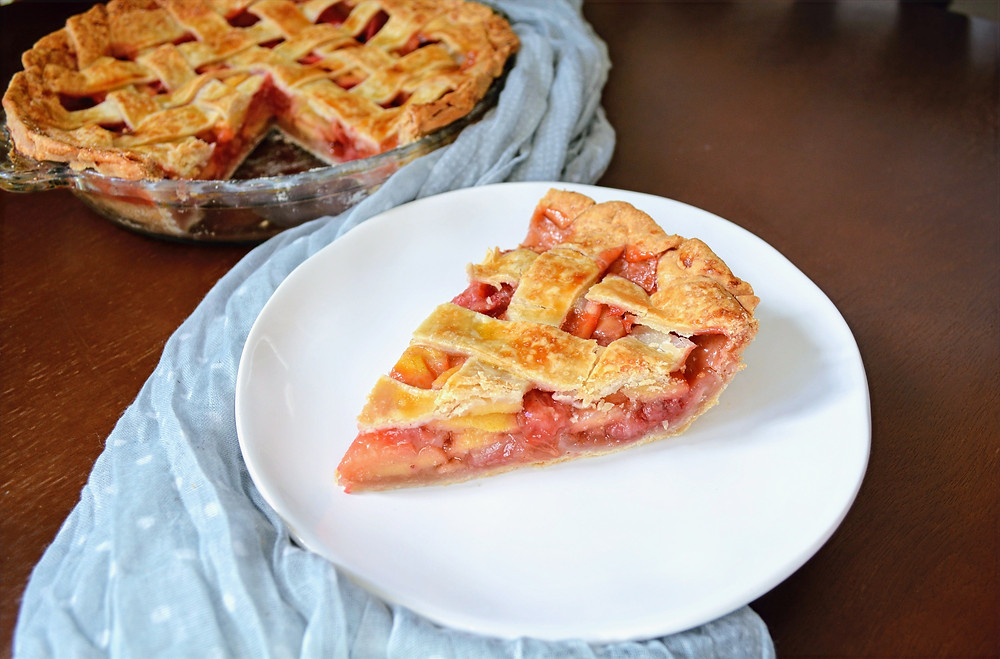 Strawberry Guava Pie with Buttermilk Crust