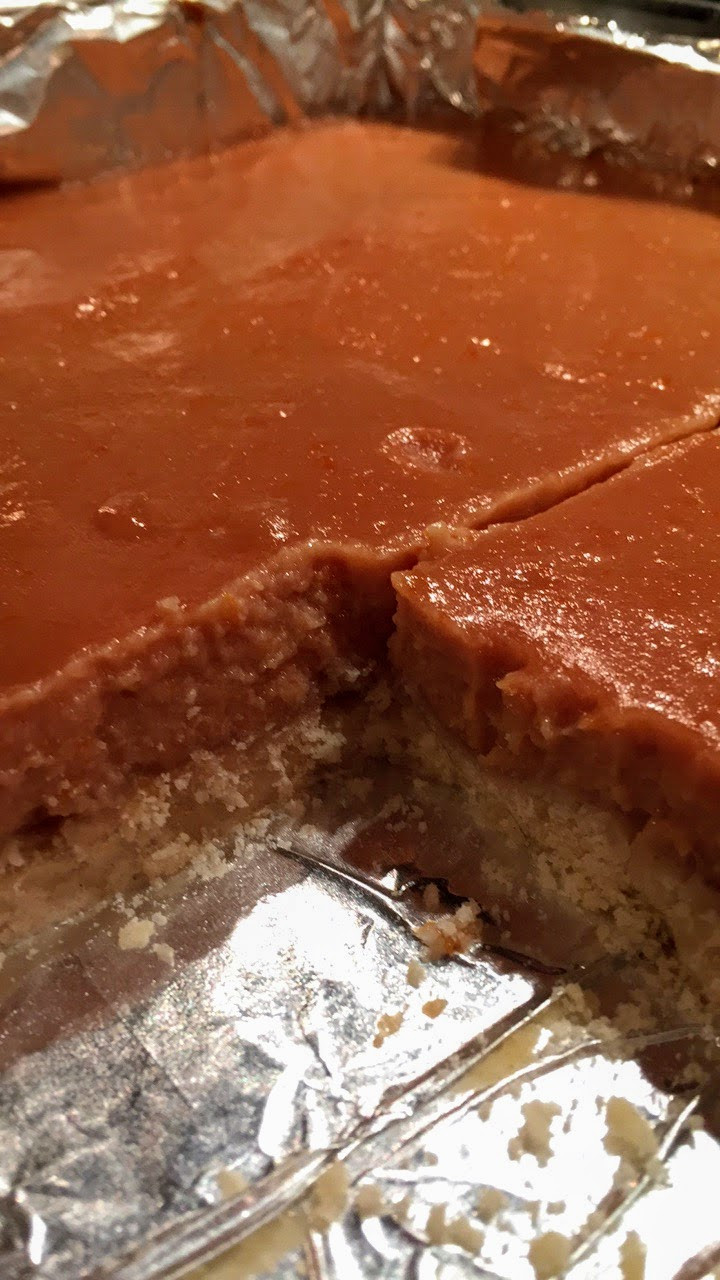 Vibrant and Luscious Blood Orange Curd Bars with Shortbread Crust