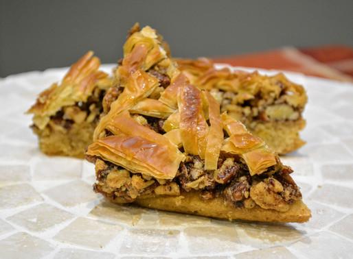 Baklava Cookie Bars