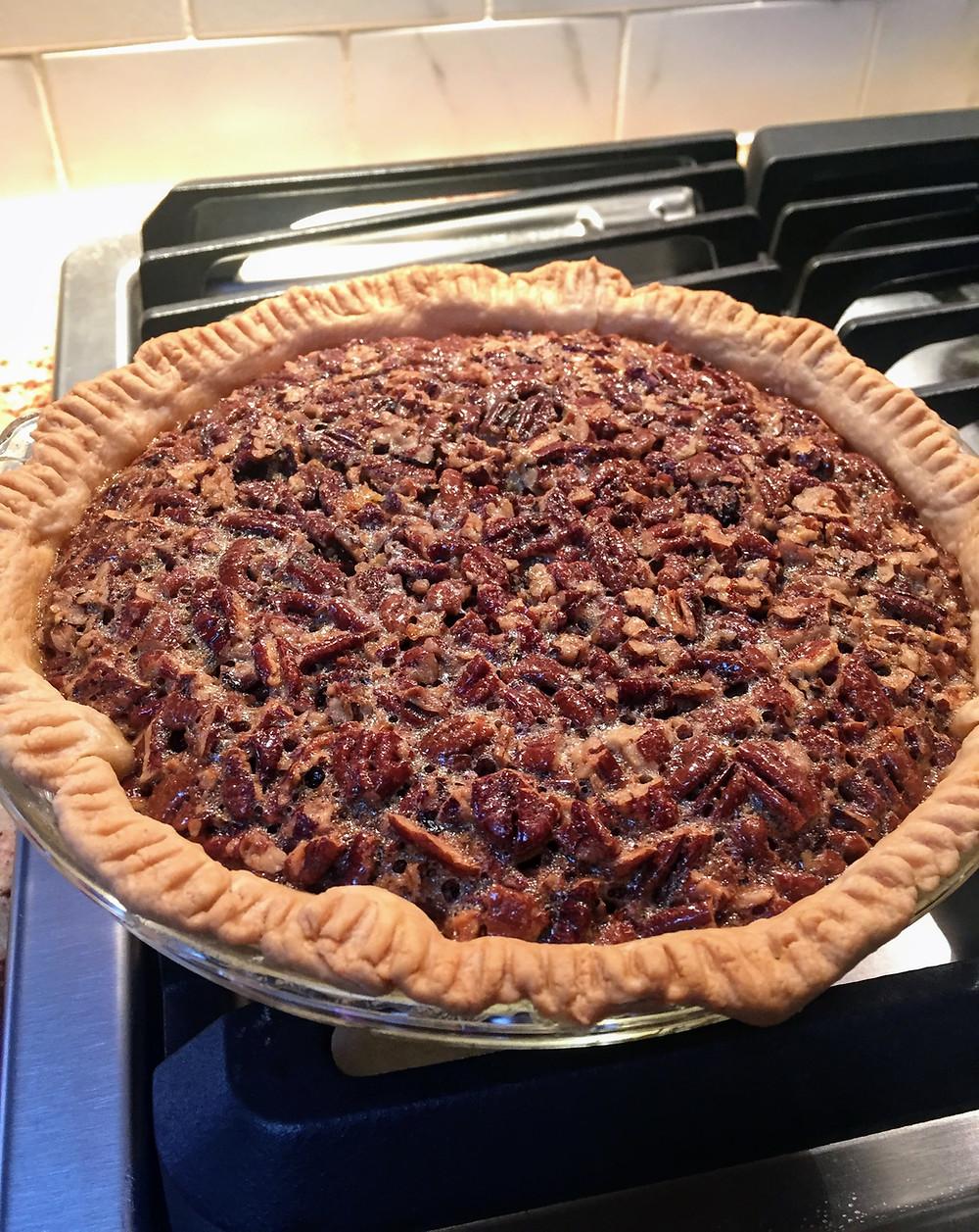 Ultimate Pumpkin Biscoff Pecan Pie with Cookie Butter