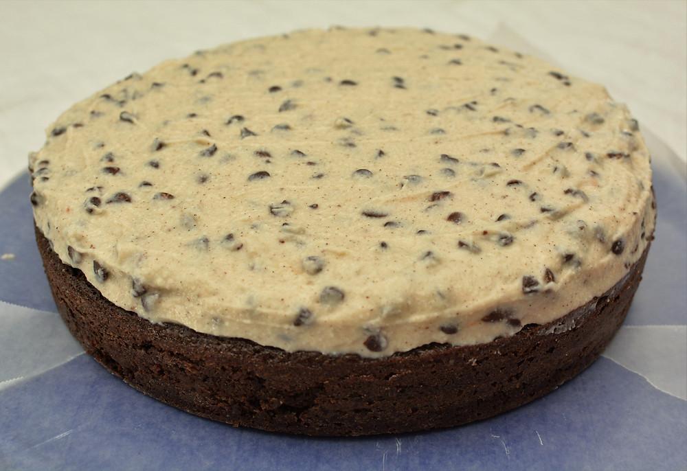 Chocolate Cannoli Cake with Ricotta Cannoli Filling