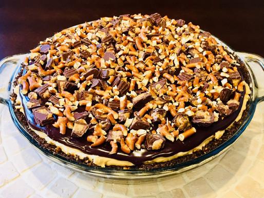 Frozen Peanut Butter Pretzel Pie