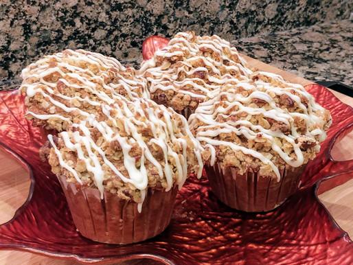 Maple Pecan Pumpkin Muffins