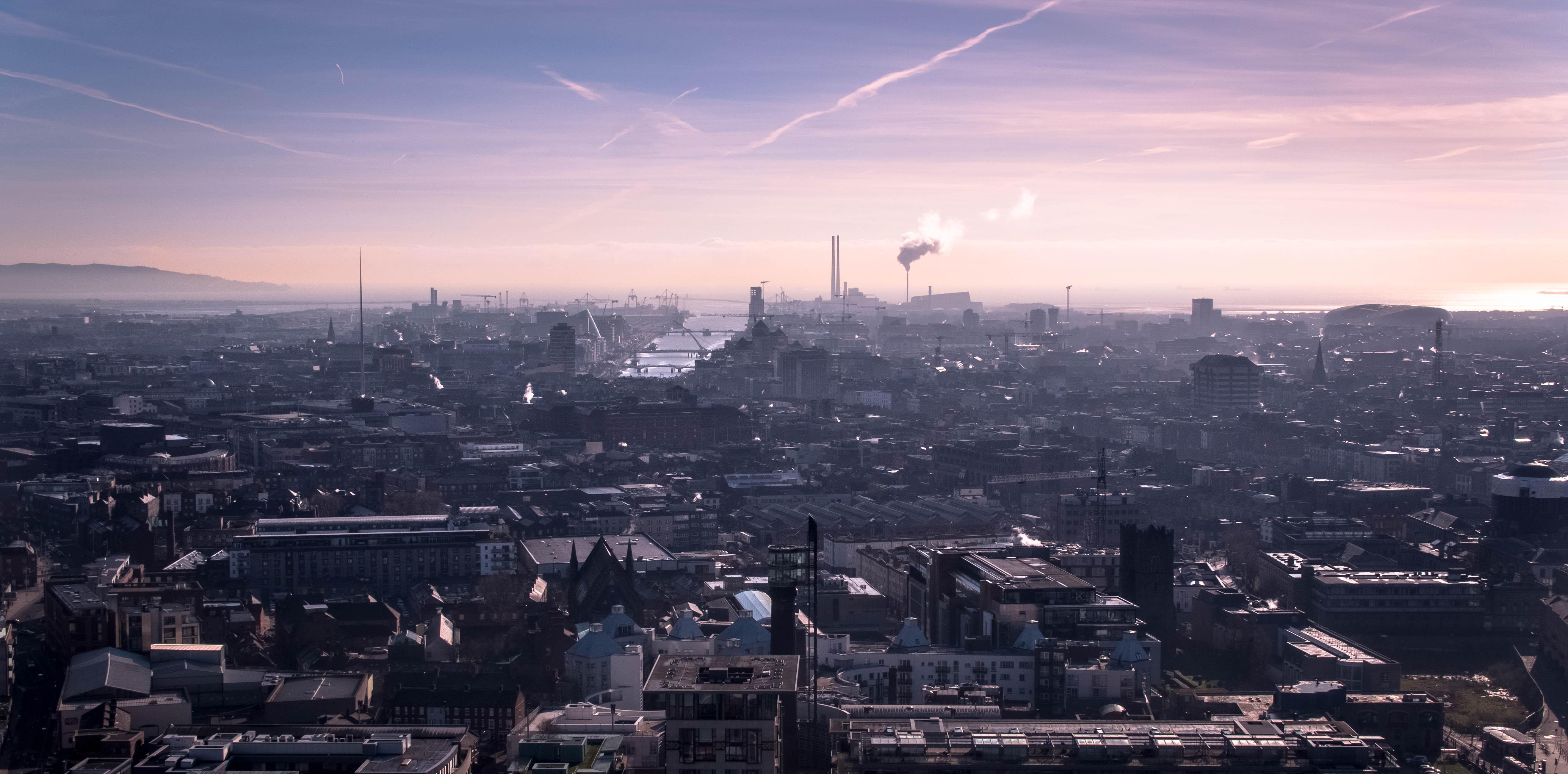 Dublin City Sunrise
