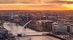 Dublin City Sunset