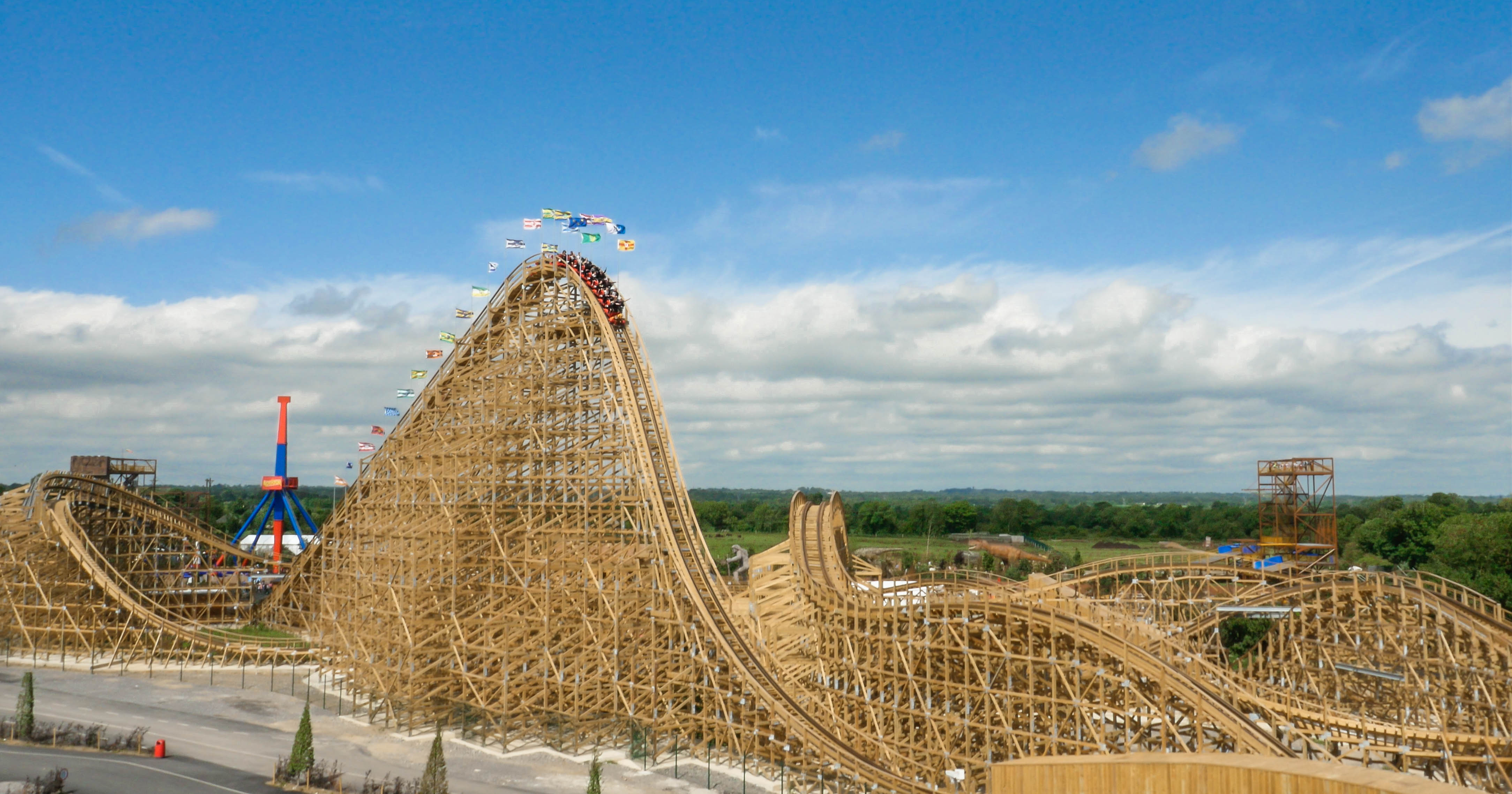 Tayto Park Rollercoaster