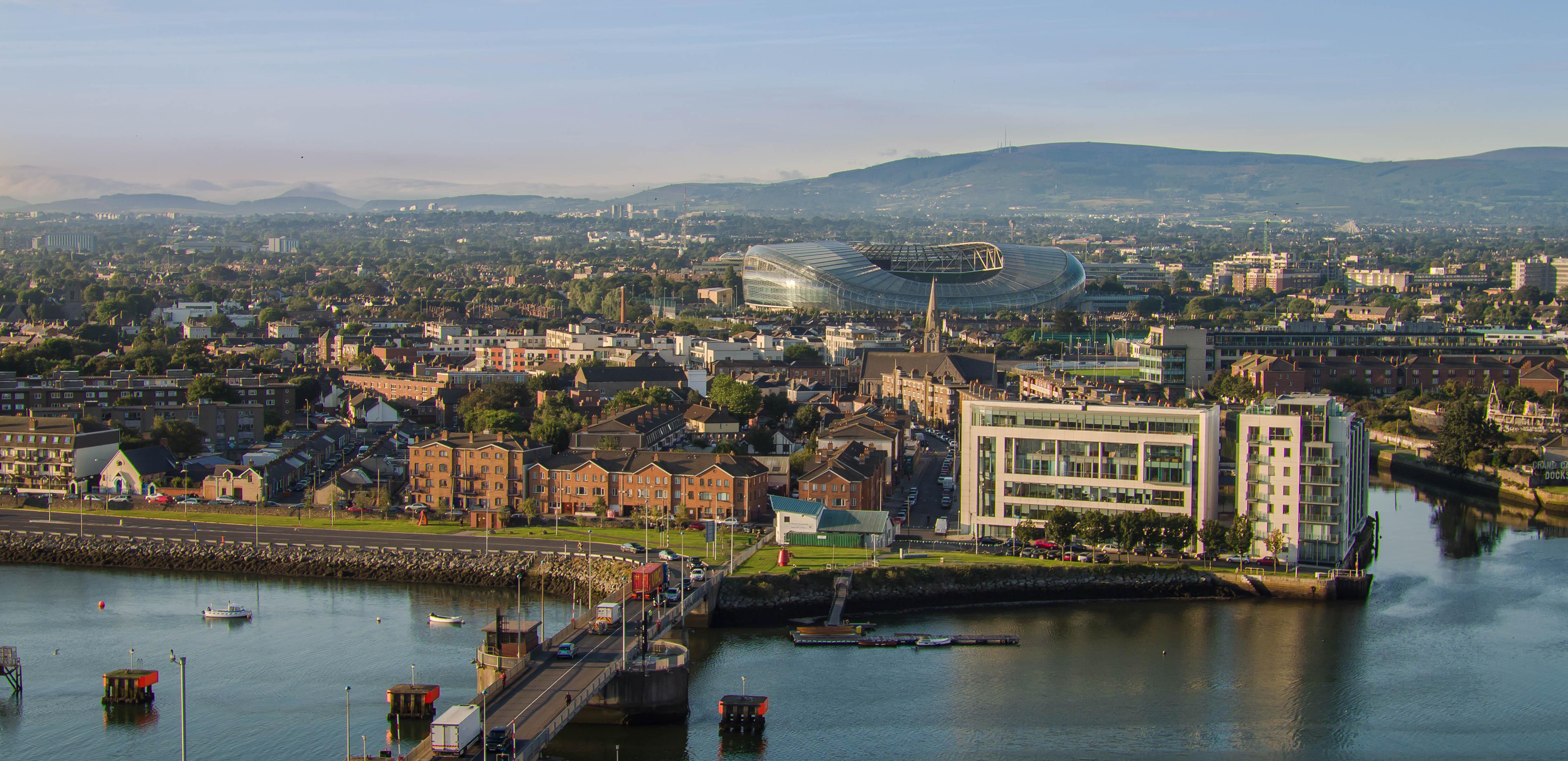 Dublin Link Bridge - Aviva