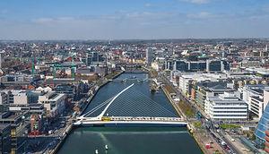 Aerial Dublin City