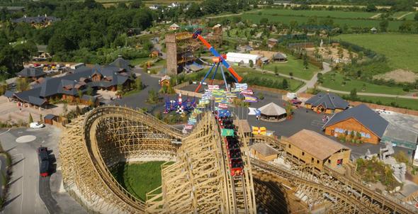 Tayto Park - Cú Chulainn Rollercoaster