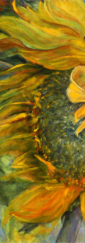 Viridian-Sunflower-Patti-Robbins-40-x-40
