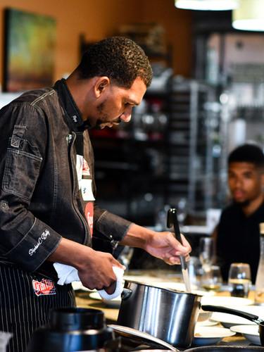 Food Network Chef Stephan C. Baity