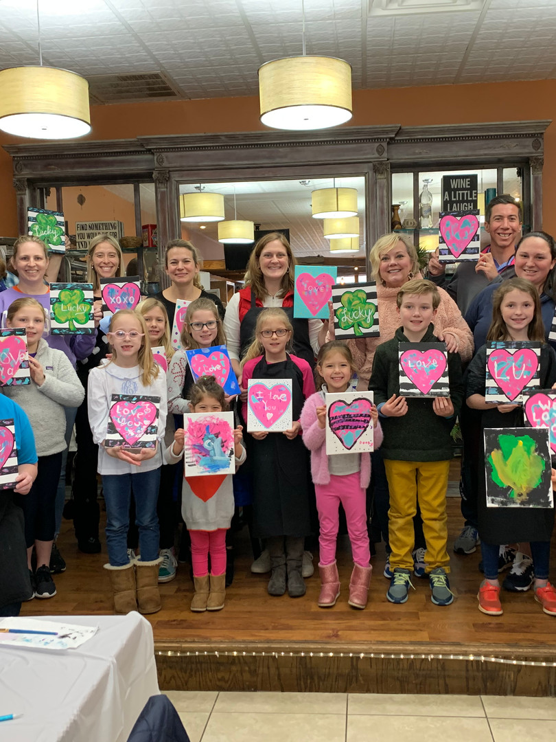 Valentine's Day Cookie and Painting Class
