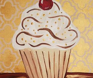 Champagne cupcake with cherry (1).jpg