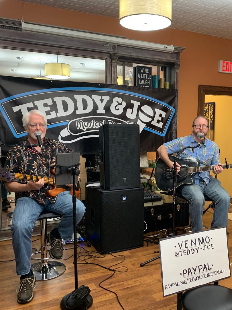 Teddy & Joe Musical Duo; Wine Tasting & Live Music