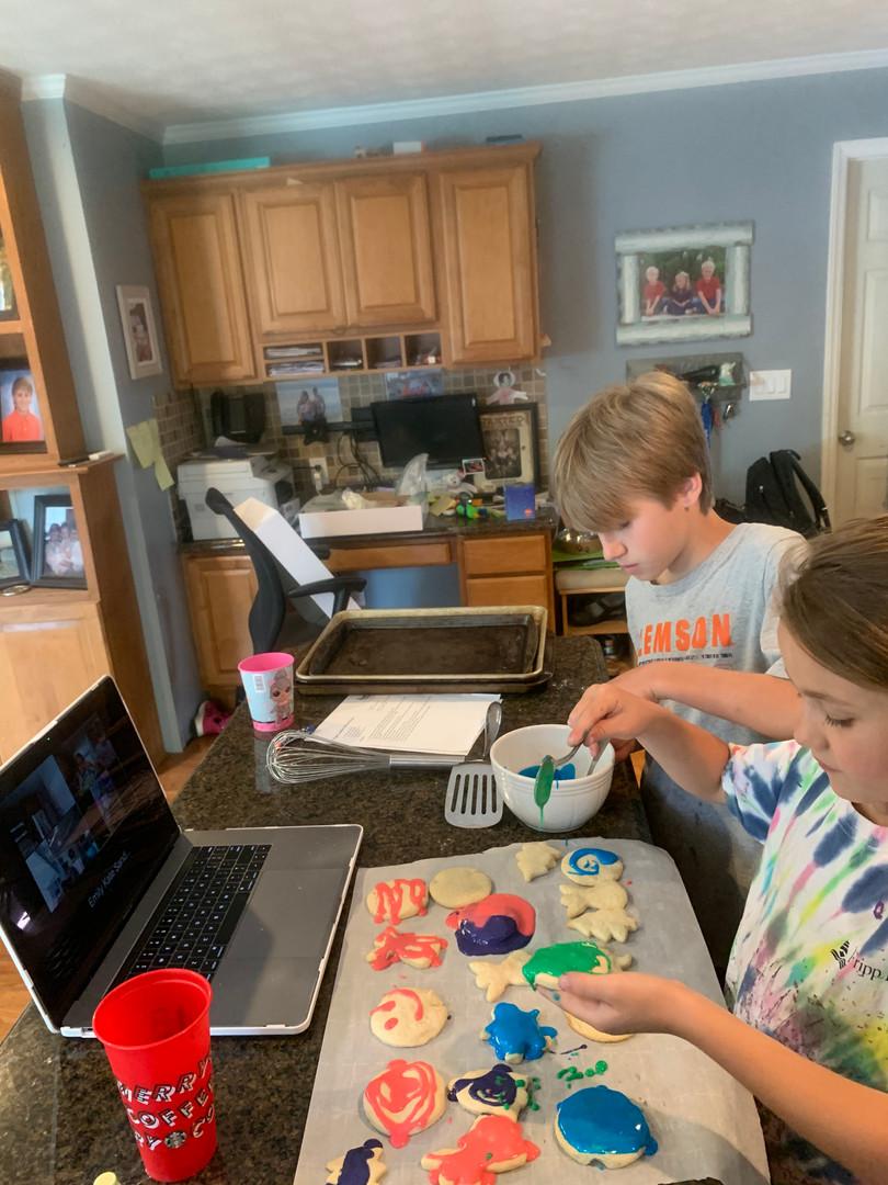Virtual Cookie Baking Classes