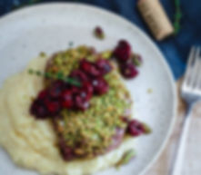 Pistachio-Crusted-Lamb-Chops-with-Red-Wi
