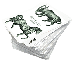 PLAYING CARDS ANIMALS 2 SETS