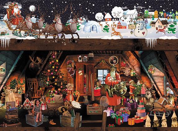 Puslespil Julen 2019 300 brikker
